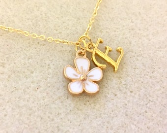Flower girl necklace unique flower girl gift jr bridesmaid gift jr bridesmaid necklace junior personalized bridesmaid gift for bridesmaid
