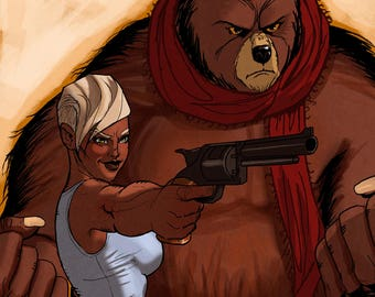 Riley and The Big Bear issue #1