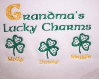 Personalized Sweatshirts Irish Mother Grandma