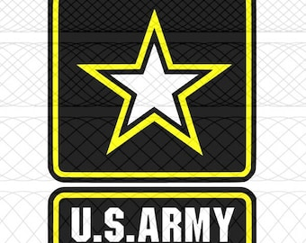 United States Army SVG|PNG|STUDIO3 Cut Files for Silhouette Cameo/Portrait & Cricut Explore/Maker DIY Craft Cutters