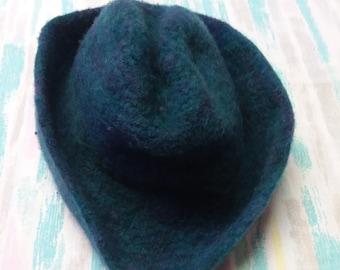 Kids Felted Wool Fashion Hat
