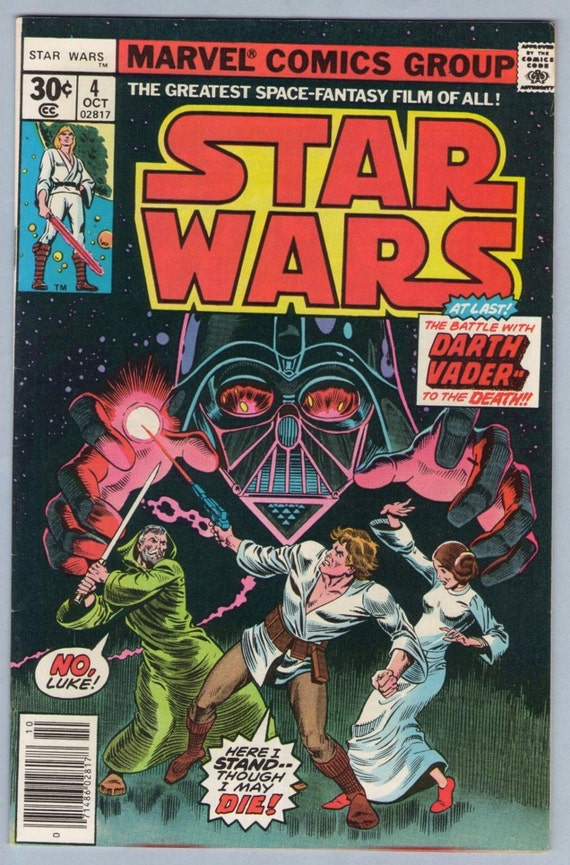 Star Wars 4 Oct 1977 VF+ (8.5)