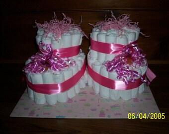 Baby Booties Diaper Cake