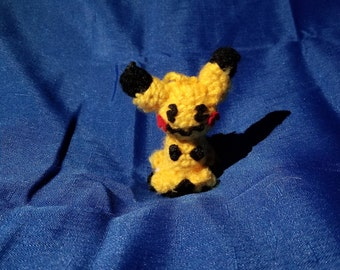 Mimikyu Pokemon Crochet Keychain