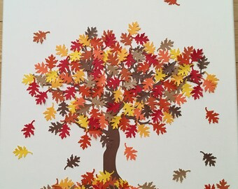 Autumn Tree Canvas Art