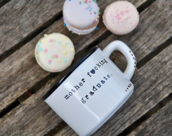 Graduation gifts for her college graduation high school grad class of 2017 she believed she could so she did personalized grad gift mug