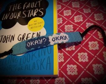 Book inspired bracelet.