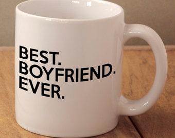 Best Boyfriend Ever, Boyfriend Valentines Gift, Best Boy Mug, Gift From Girlfriend, Anniversary Present, Boyfriend Birthday Gift, Best Mug