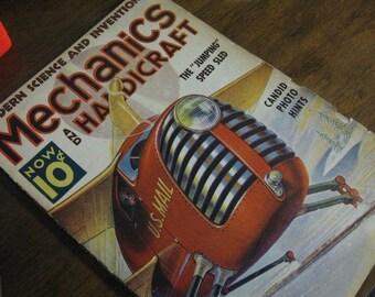 Mechanics and Handicraft December 1938