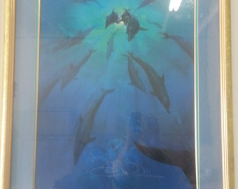 Freedom Painting signed by artist John Pitre