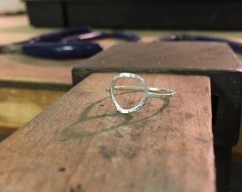 "Sterling silver ""unity"" ring"