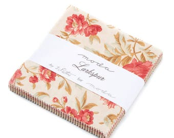 Moda Larkspur Charm Pack by 3 Sisters