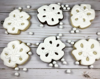 Sand Dollars Sugar Cookie
