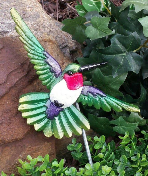 Hummingbird Garden Decoration Bird Garden Decor Garden