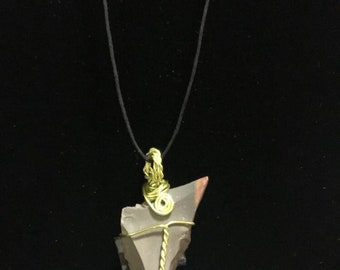 Desert Jasper Crystal Healing Necklace