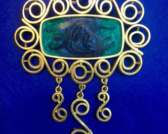 Huge Art Deco Brooch