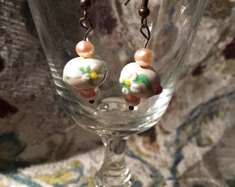 Pretty Spring dangle earrings
