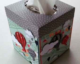 Tissue Box Cover, Up & Away Stampin' Up! Tissue Box, Stampin' Up! Inside the Lines Tissue Box, Stampin' Up! Lift Me Up Tissue Box Cover