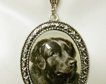 Newfoundlander pendant with chain - DAP09-136