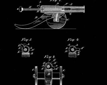 Toy Cannon Patent#632005 dated August 29, 1899.