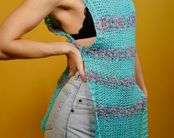 Knit Tunic with Side Detail