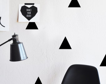 Wall Decal - Triangles - Wall Sticker - Room Decor