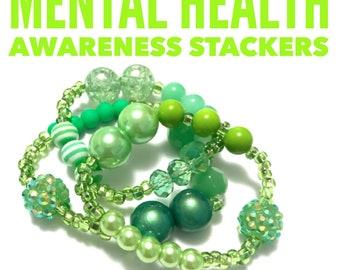 Green Mental Health Awareness Month Stacker