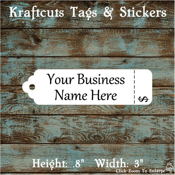 Super Price Tags - Kraftcuts ~ Buttons and Tags WH59