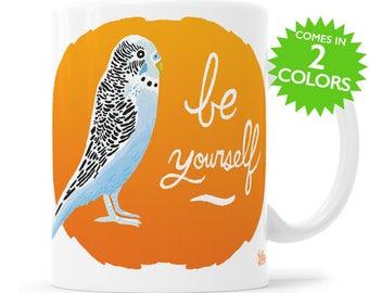 Bird Gift Bird Mug Inspirational Gift Gift For Mom Christmas Gift Gifts Under 25 Cute Bird Mug Parakeet Gift Gift For Bird Lover Best Friend