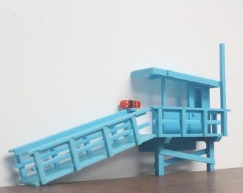 Book Shelf Lifeguard Tower