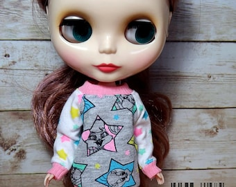 Looney Tunes  sweatshirt for Blythe doll