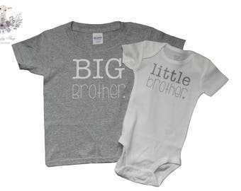 Big Brother Little Brother Tee Set