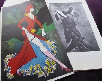 Prints Poster Art Nouveau Jugendstil Book of Rare Prints