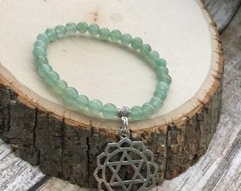 Green Aventurine Heart Chakra Bracelet