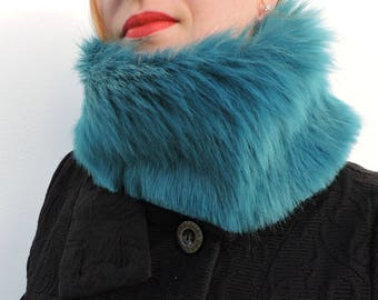 Fake fur Snood, neck warmer