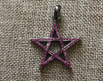 Ruby Star Pendant