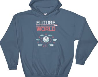 Epcot future world map shirt design of 1982 t shirt including epcot future world map hoodie including classic attractions horizons and world of motion a retrocot original gumiabroncs Image collections