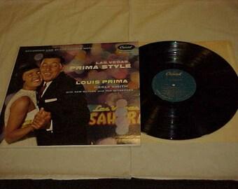Louis Prima and Keely Smith - 33 LP - Las Vegas Prima Style