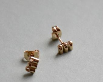 Gold filled Stud Earrings