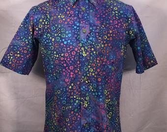 Rainbow Dot Batik Shirt
