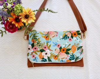 Floral Mint Cross-Body (Rifle Paper Co.)