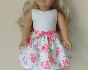 "18"" doll spring dress"