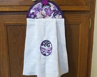 Hanging Kitchen Towel Butterfly Kitchen Towel Hanging Hand Towel Hanging Tea Towel Hanging Dish Towel Tie Towel