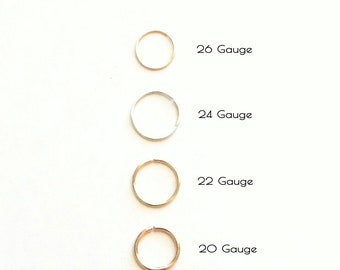Thin Cartilage Hoop, 20g 22g 24g 26g Small Cartilage Hoop, Thin Helix Earring, Single Endless Hoop Earring or Endless Hoop Earring Set