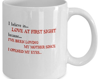 I believe in love at first sight - coffee/tea mug (Free Shipping)