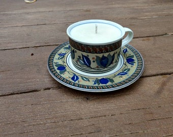 Bourbon Butterscotch - Soy Wax Tea Cup Candle