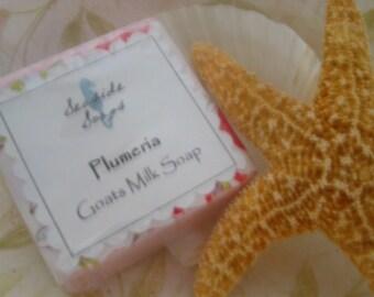 Plumeria Goats Milk Soap