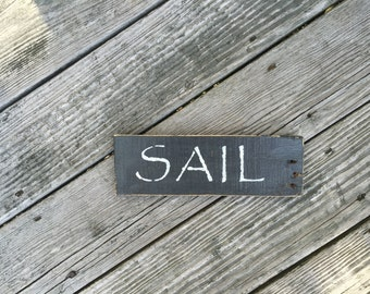 Sail Sign, Beachy,Coastal,Nautical,Sailboats