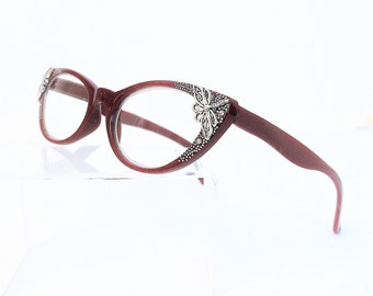 Reading glasses with Dragonfly