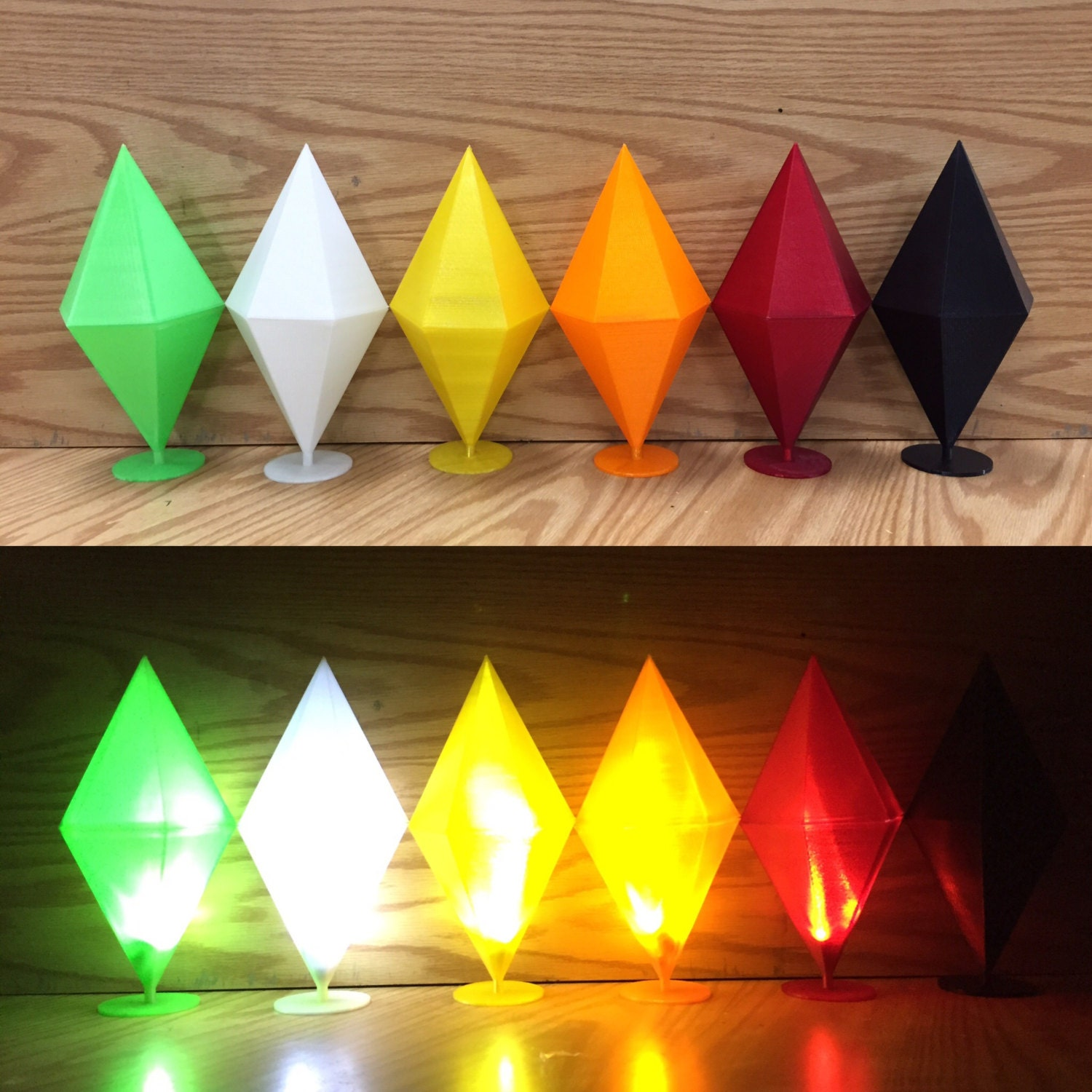 by on plumbob papercraft link deviantart art sim the sims diamond